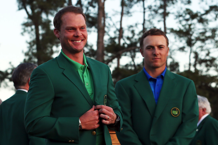 Not even last year's green jacket can hide the heartbreak.